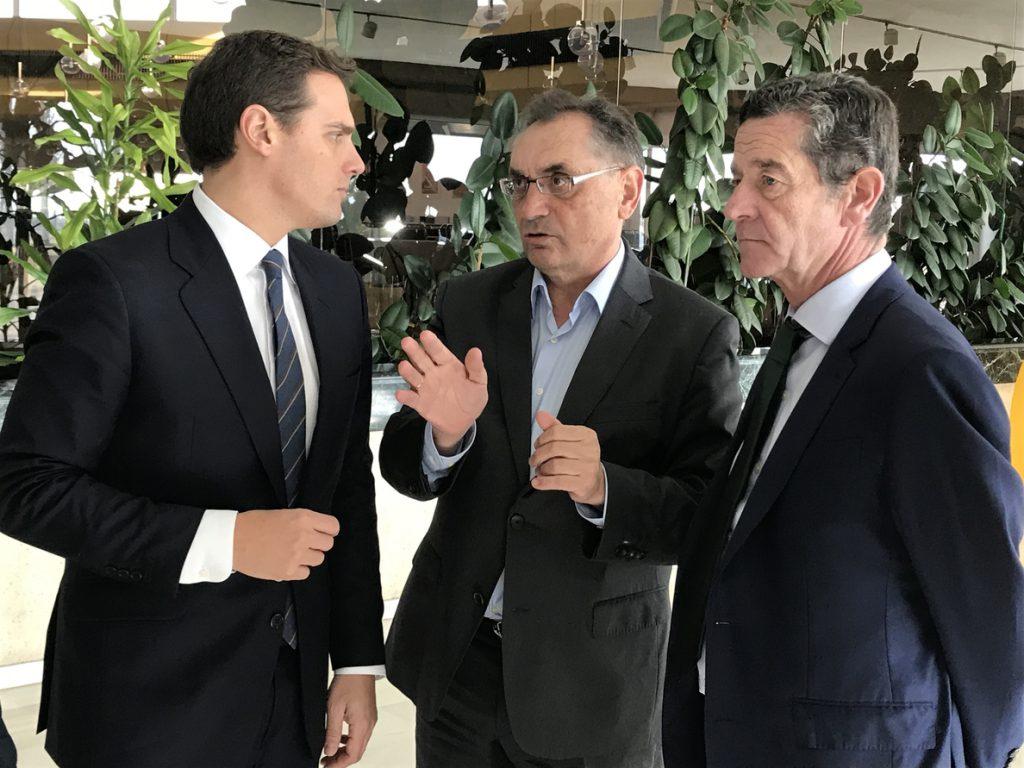 El presidente de Cs insiste en que Sánchez y Díaz (PSOE) deben asumir «que tienen que pasar a la oposición»