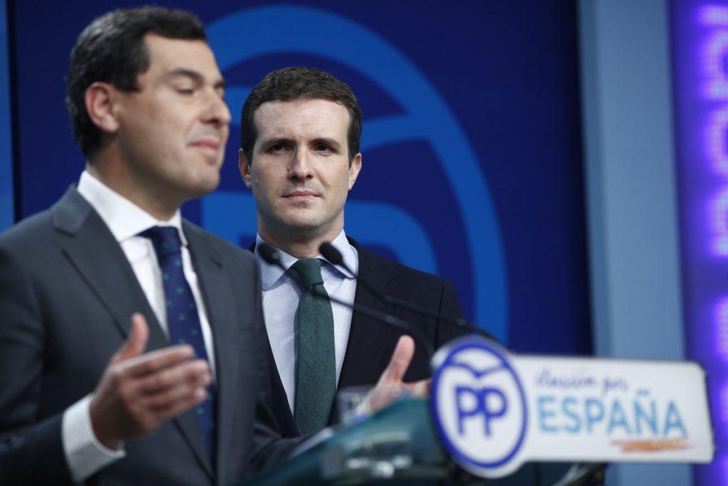 'Génova' cree que se cumplirán los plazos para cerrar un acuerdo con Cs en Andalucía antes del 27 de diciembre
