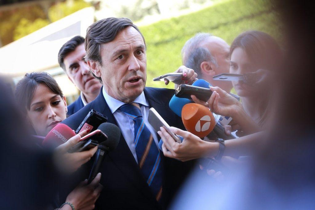 Hernando (PP) pide «claridad» a Ciudadanos ante la prisión permanente: «O se está a favor o se está en contra»