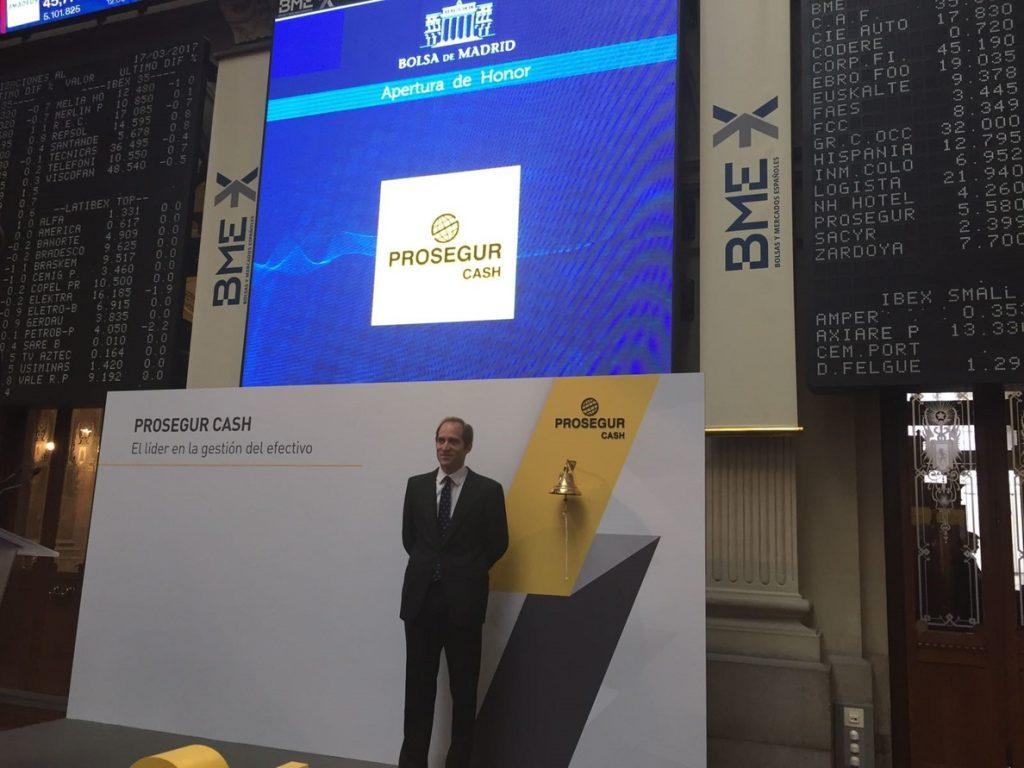 Prosegur Cash abonará un dividendo bruto de 0,078 euros en cuatro pagos a cuenta de los resultados del año