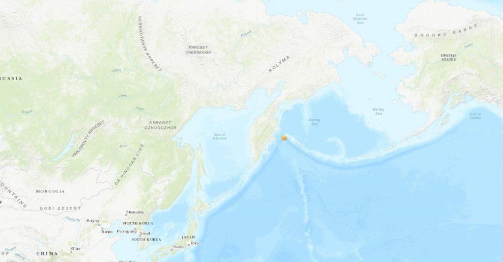 Emitida una alerta por posible tsunami tras un terremoto de magnitud 7,3 en el extremo oriental de Rusia