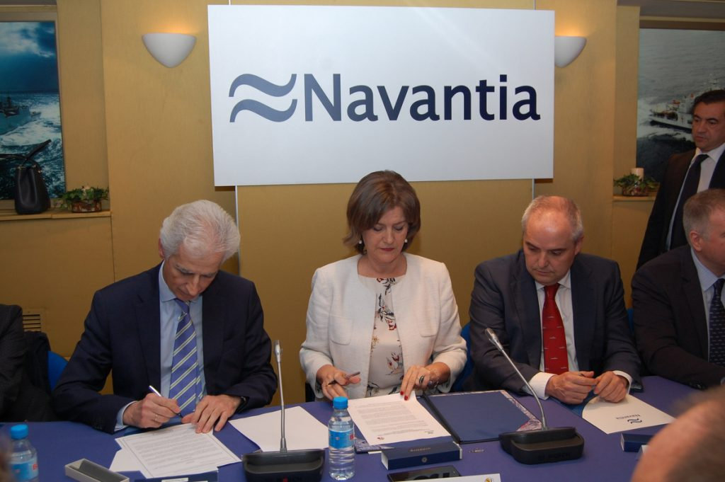 Navantia y sindicatos firman el plan estratégico de la empresa, que contratará a 1.658 personas hasta 2022
