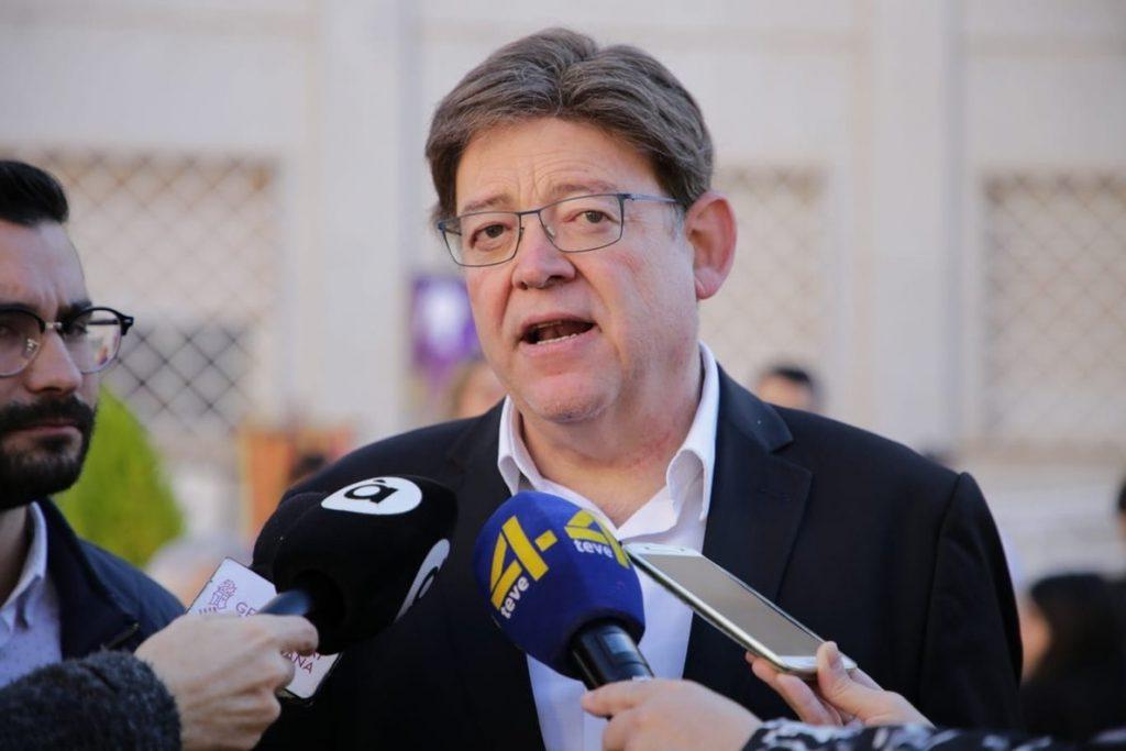 Ximo Puig dice que «desde un punto de vista humanitario» la prisión preventiva no es adecuada para Zaplana