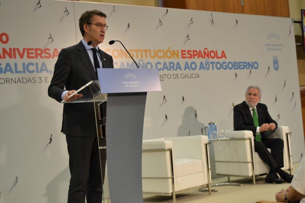 Feijóo exige al Gobierno de Sánchez, ante el desafío catalán, «no disfrazar de convivencia lo que es mera connivencia»