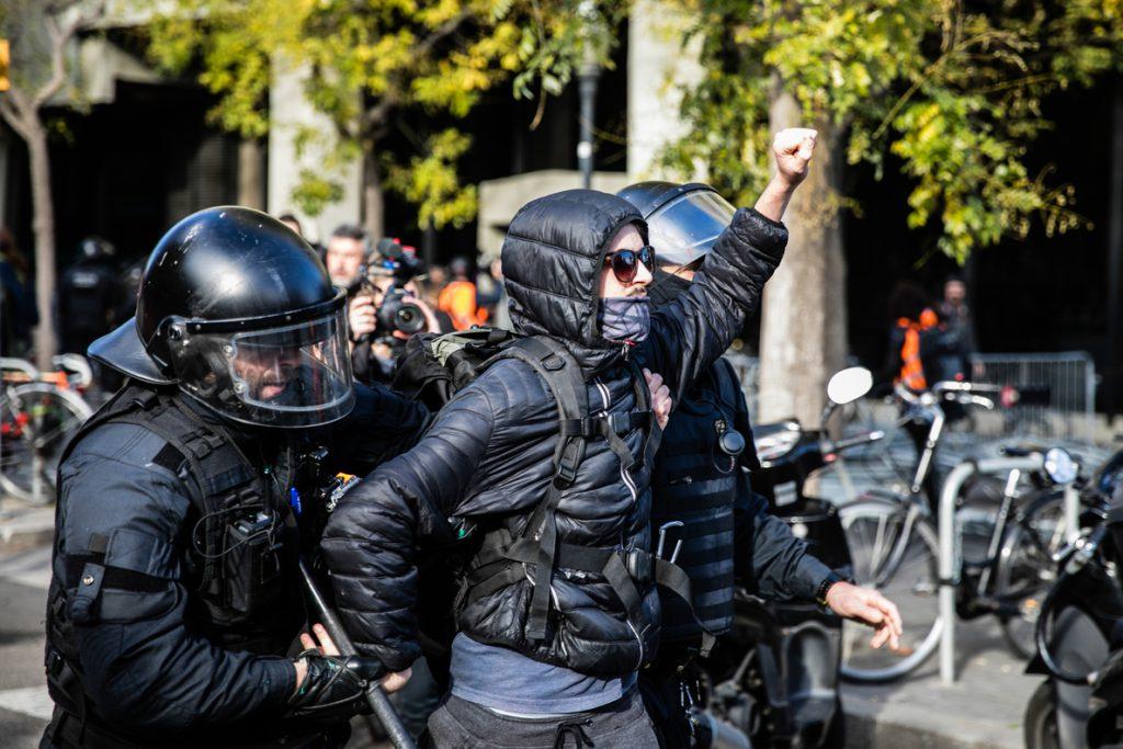 Los detenidos el 21D en Barcelona y L'Ampolla (Tarragona) pasan a disposición judicial