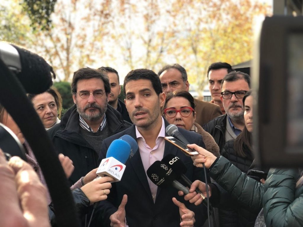 Martín Blanco (Cs) acusa a Sánchez de ir a Barcelona a «complacer a sus socios separatistas»