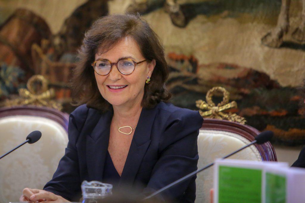 Carmen Calvo apuesta por la «igualdad laboral» de cara a 2019, tras un 2018 de lucha contra la violencia de género
