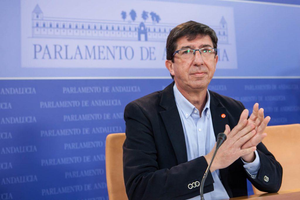 Marín cree «históricos» los acuerdos alcanzados entre PP-A y Cs y se muestra «satisfecho» del trabajo realizado