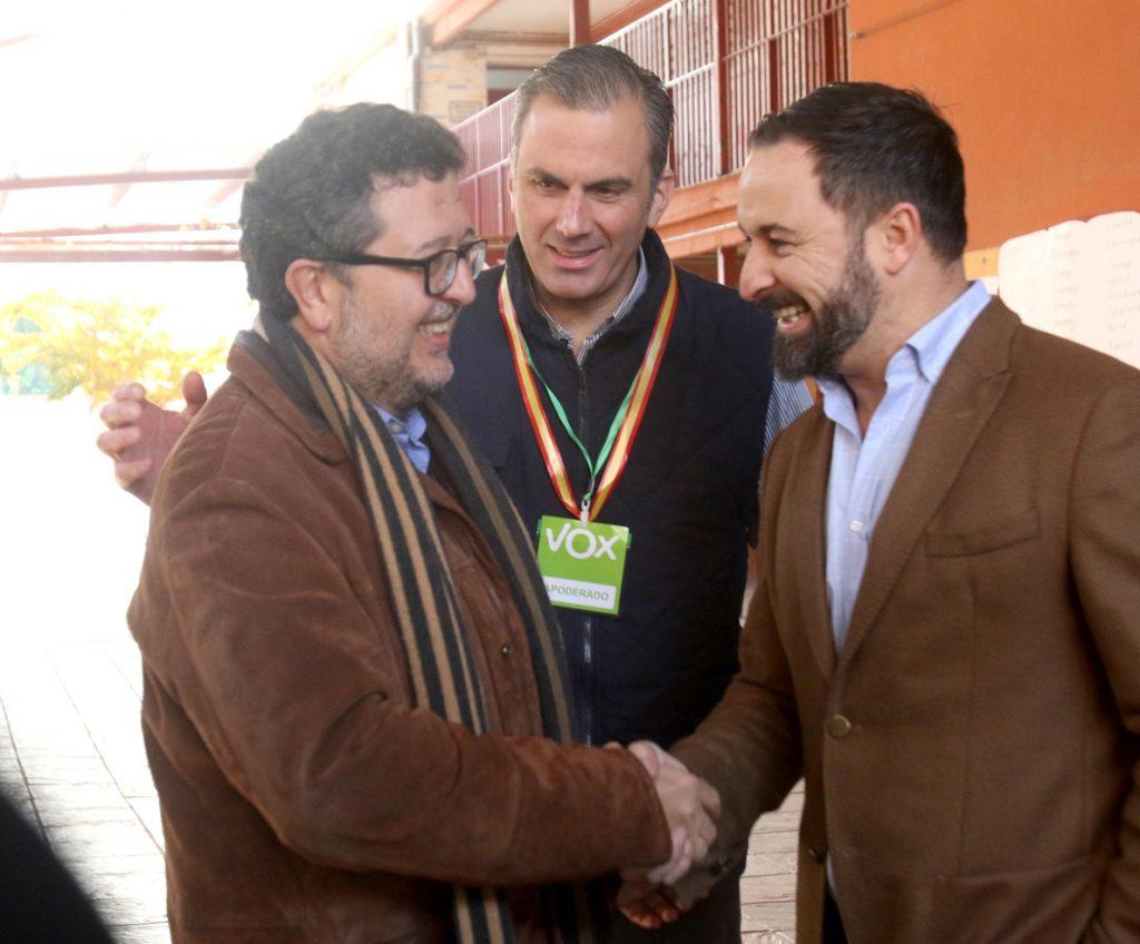 El secretario general de Vox asistirá este jueves a la constitución del Parlamento andaluz