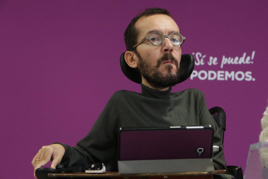 Echenique dice que «no hacen falta mediadores internacionales» en Cataluña aunque celebra los «puentes de diálogo»