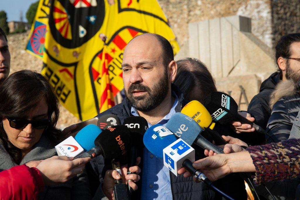 Mauri (Òmnium) dice que el Rey no escucha a la mayoría de Cataluña y «avala la vulneración de derechos»
