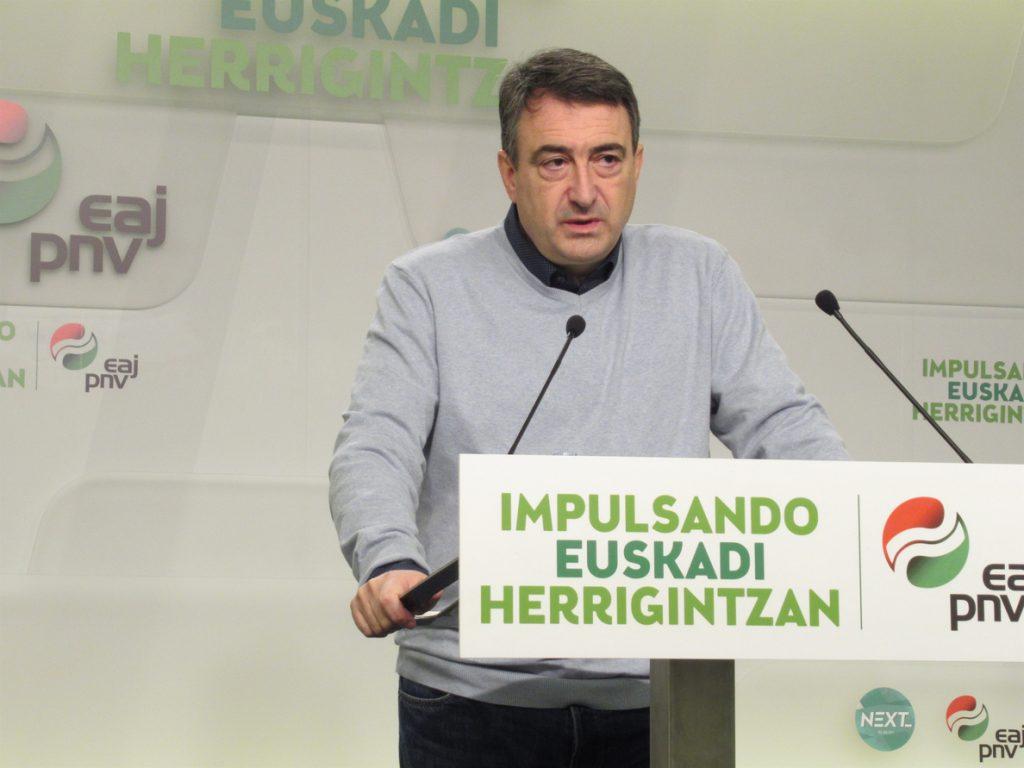 El PNV responde al Rey que «el mayor legado» de la Constitución sería «que se reconociera a los vascos como nación»