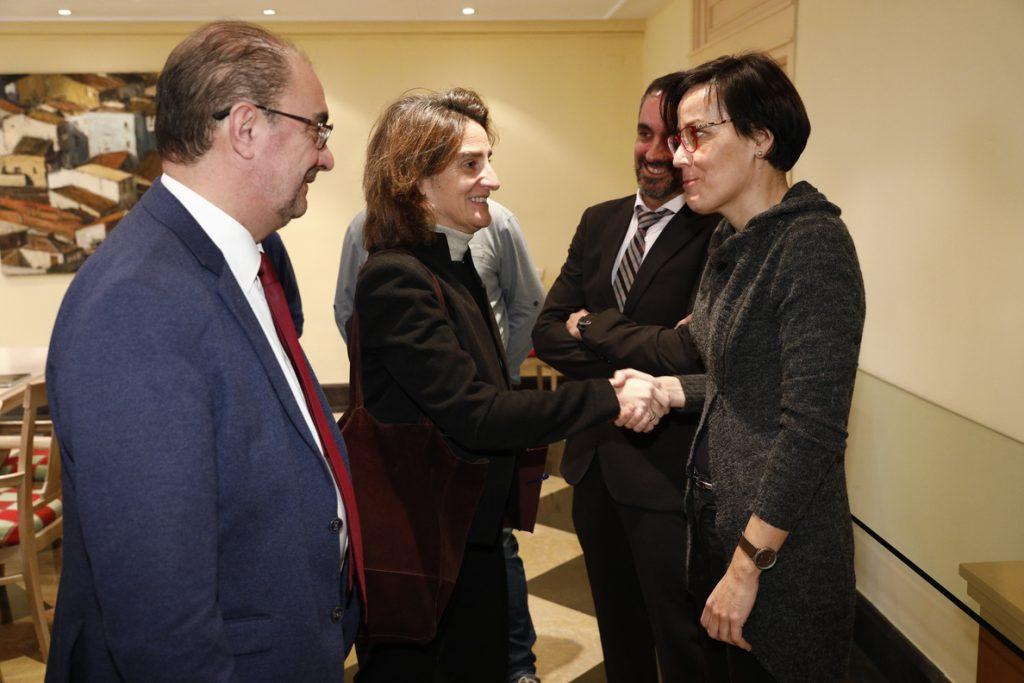 Ribera recibe este miércoles a Herrera, Fernández y Lambán tras la petición de reunión conjunta por la minería