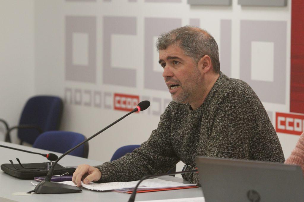 Sordo (CCOO) lamenta el efecto «pernicioso» que tiene VOX «contaminando» el discurso político de PP y Ciudadanos