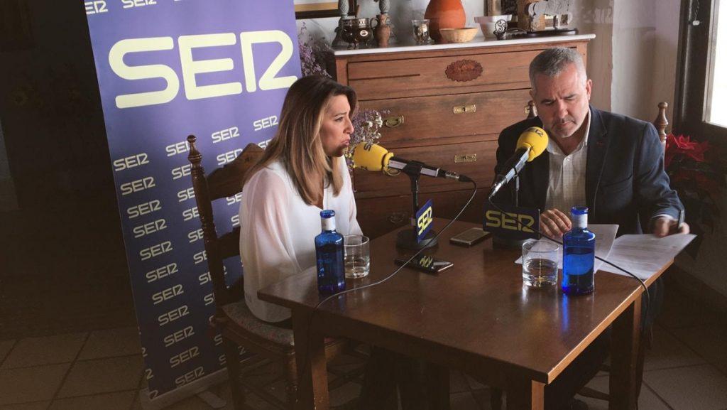 Susana Díaz garantiza que no hará «un Rajoy ni un Arrimadas» y que se presentará a la investidura tras ganar el 2D