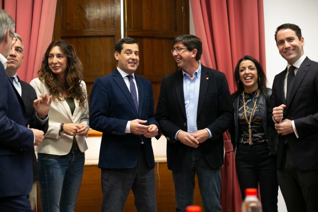 Ciudadanos pacta con el Partido Popular presidir el Parlamento andaluz