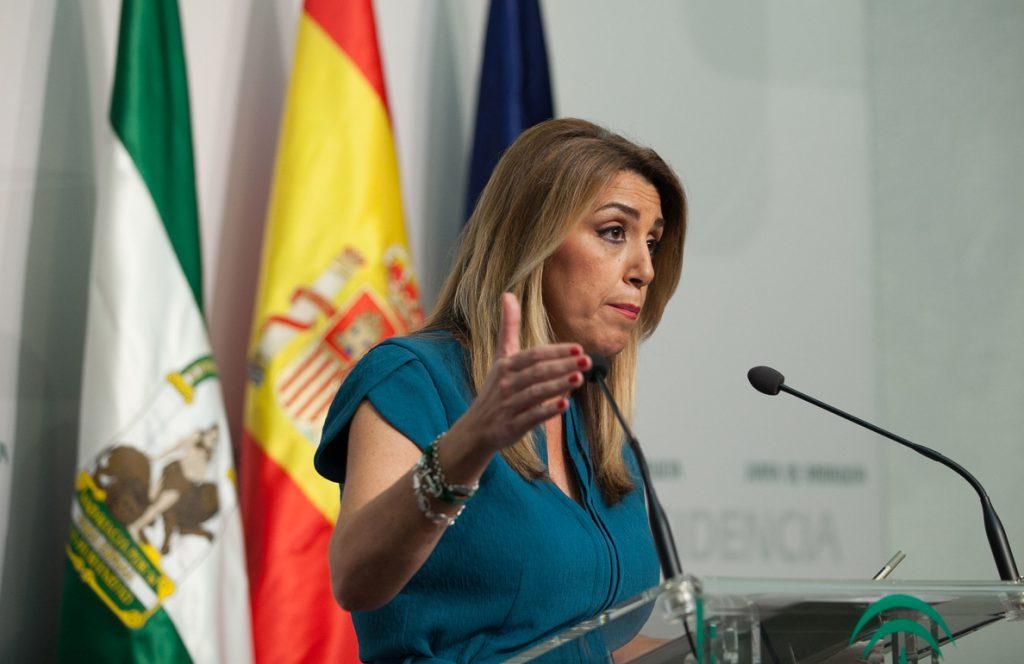 El Gobierno andaluz en funciones aborda este miércoles la prórroga del Presupuesto autonómico para 2019