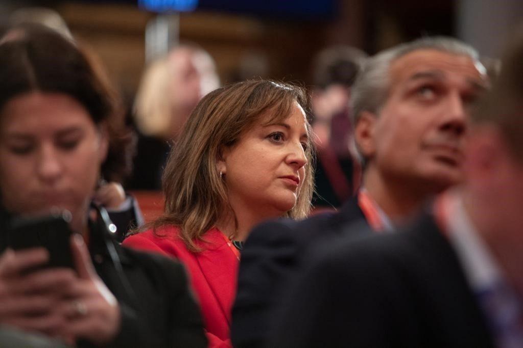 Iratxe García (PSOE) dice desconocer si Rubalcaba ha rechazado ser candidato al Ayuntamiento de Madrid