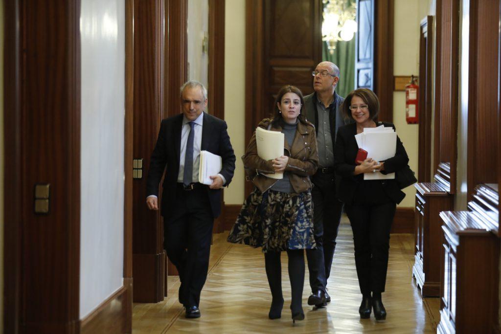 (AMP) PSOE recurre al TC que PP y CS impidan tramitar de urgencia la reforma contra el veto del Senado