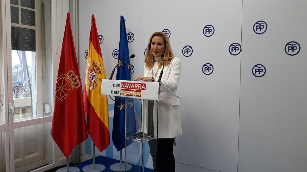 Beltrán repetirá como cabeza de lista del PPN al Parlamento foral y Carmen Alba será candidata a la Alcaldía de Pamplona