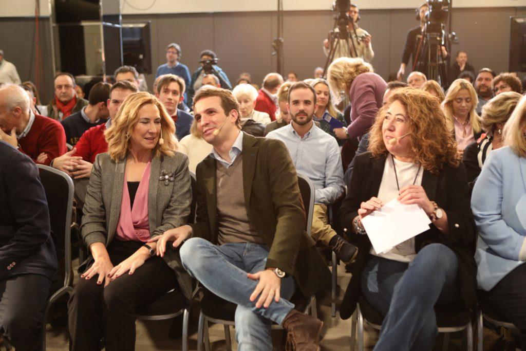 Casado cree que Andalucía «va a ser un preámbulo de lo que va a pasar en las elecciones autonómicas y municipales»