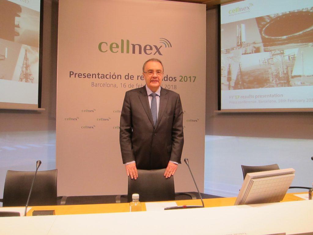 Cellnex entra en el capital de Nearby Sensor con una participación del 15%