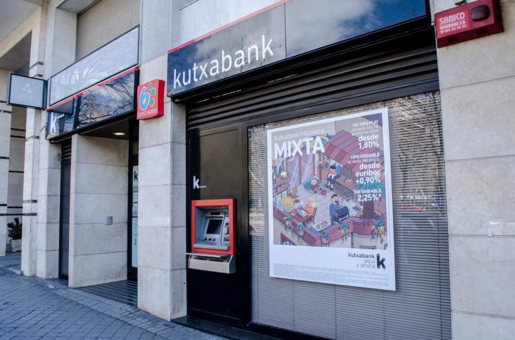 Kutxabank abonará 127,1 millones de euros como dividendo a cuenta a las fundaciones BBK, Kutxa y Vital