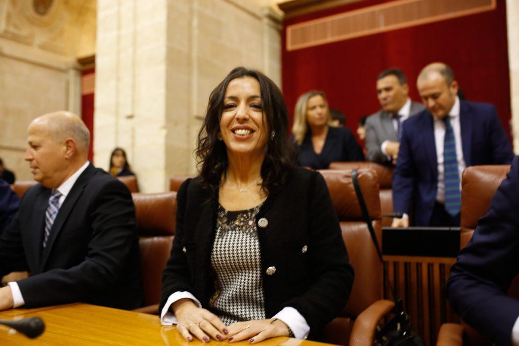 Marta Bosquet (Cs), elegida presidenta del Parlamento andaluz con los votos del PP-A, Cs y Vox