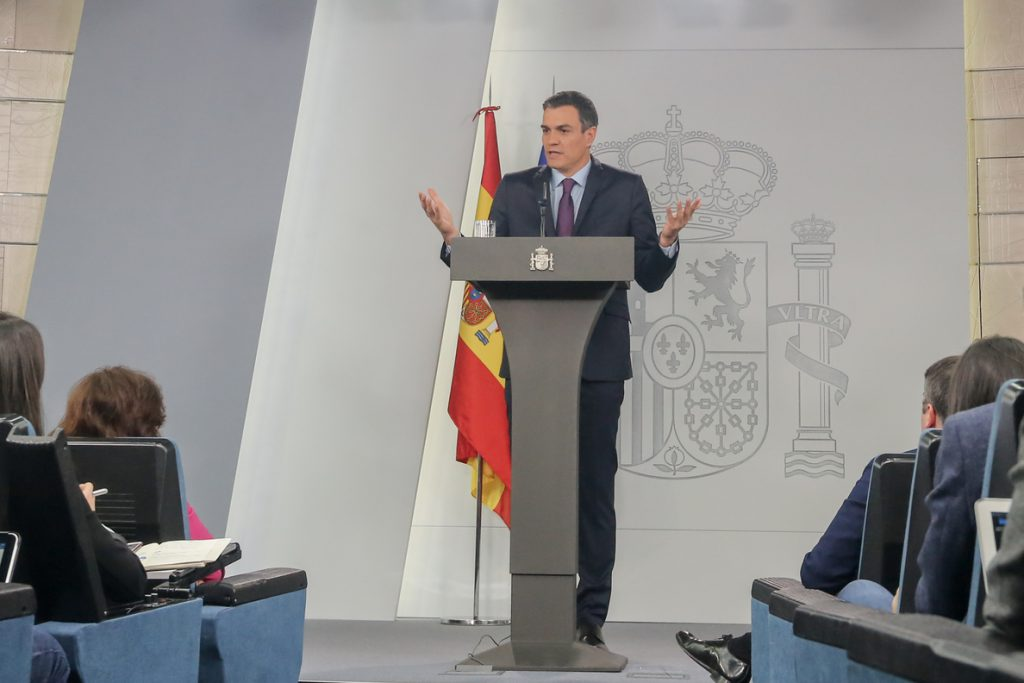 Sánchez desprecia los 21 puntos de negociación de Torra: «son monólogos»