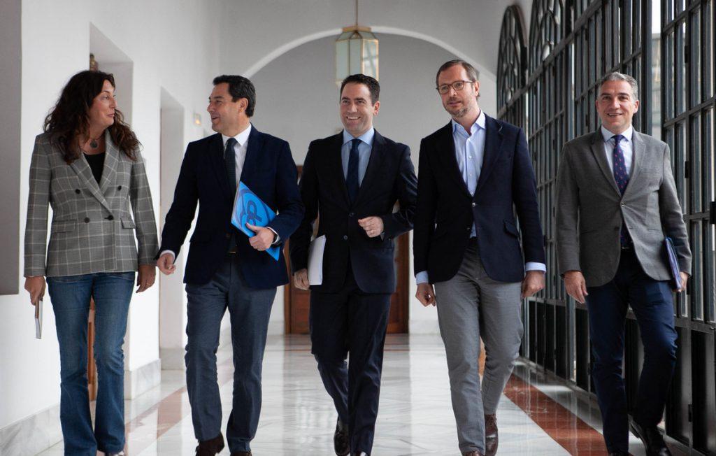 García Egea:»Es sorprendente que Sánchez amenace con aplicar el 155 en Andalucía porque gobierne el PP y no en Cataluña»