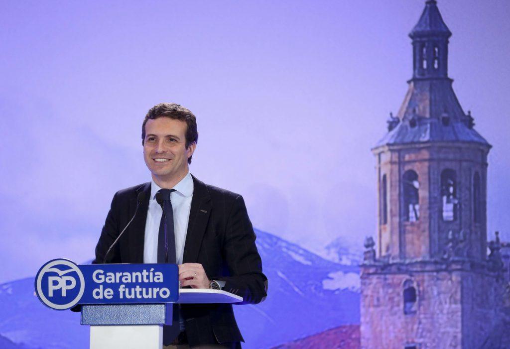 Casado asegura que la «nueva amenaza» de Torra «no puede quedar impune»: «El independentismo está descontrolado»