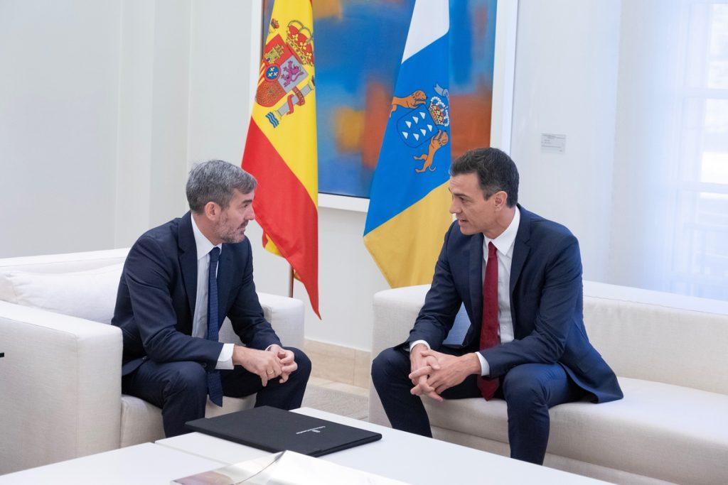 Clavijo insiste en reunirse con Sánchez en Lanzarote para resolver los convenios pendientes