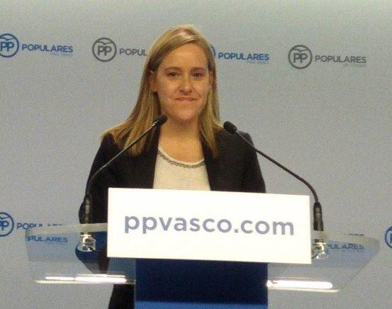 Fernández (PP) dice que PSE pide moderación a PNV pero le «presta el mechero para encender la mecha de la inestabilidad»