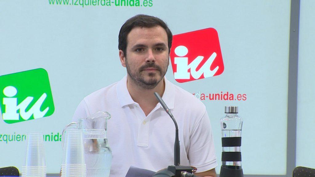 Garzón, a la militancia de IU: «Los vientos hoy parecen soplar hacia la derecha pero hay motivos para ser optimistas»
