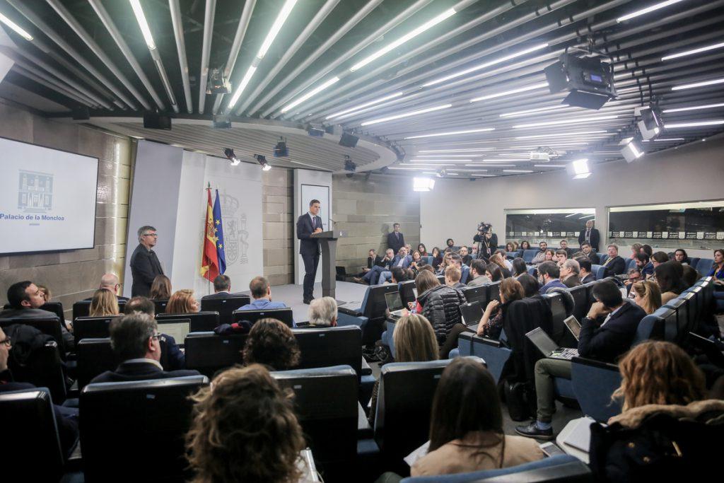 Sánchez reivindicará su política de DDHH ante el Consejo de Europa coincidiendo con el inicio del juicio al 'procés'
