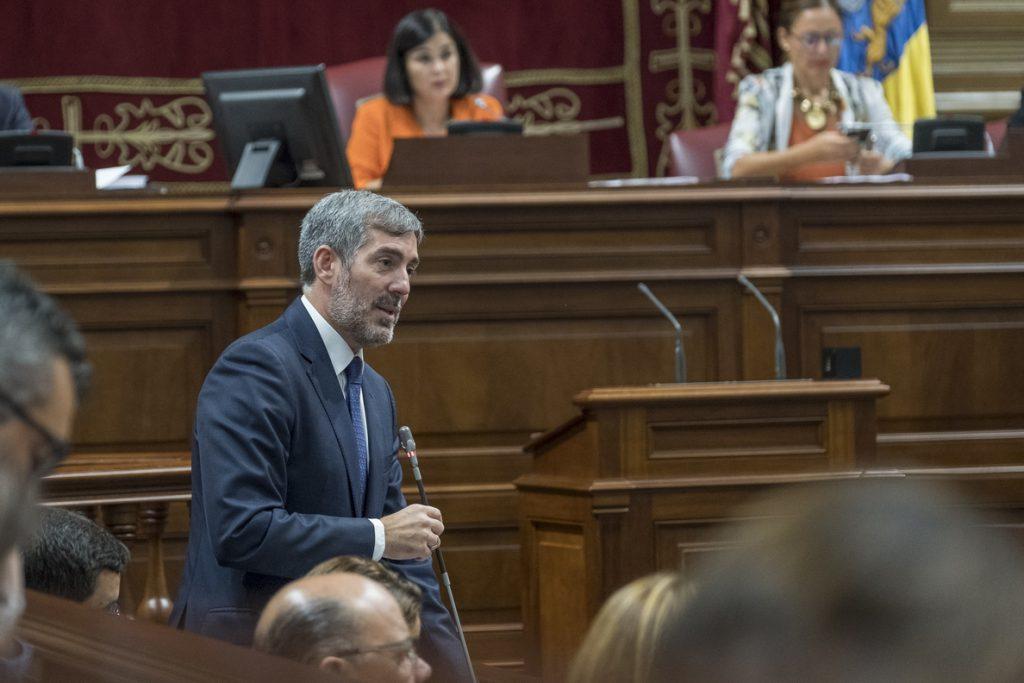 Clavijo despide el 2018 «seguro del trabajo bien hecho» para iniciar un 2019 con la base de la Canarias que quiere