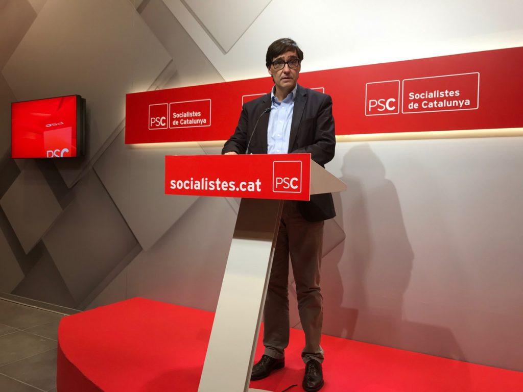 Illa (PSC) cree que Torra «no tiene los pies en el suelo» y les dificulta apoyar las cuentas catalanas