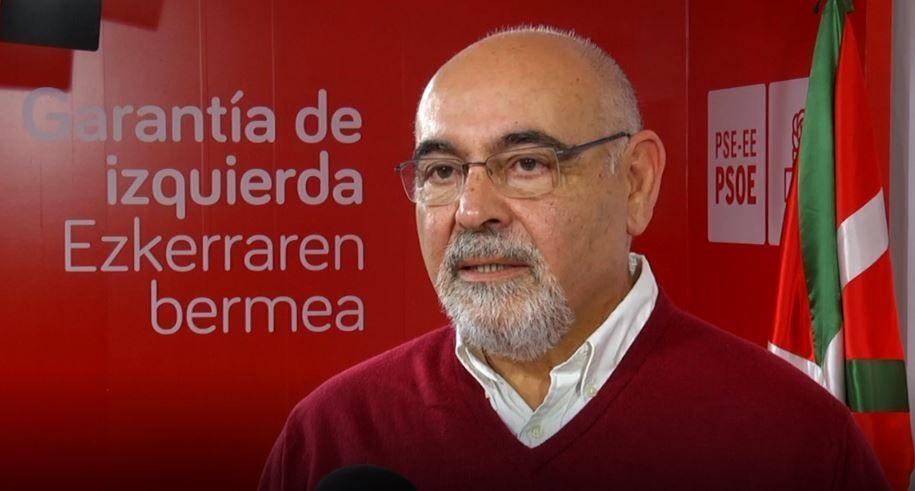 PSE-EE llama a los nacionalistas a «evitar recetas del pasado» que imiten a Cataluña y a seguir por el «buen camino»