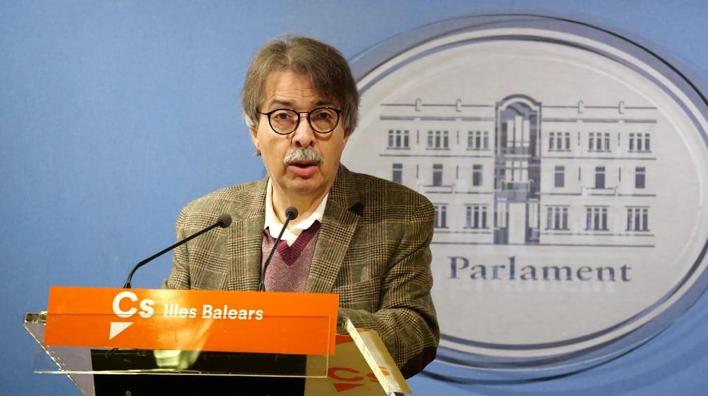 Pericay (Cs Baleares): «El discurso de Armengol ha sido engolado y de escaparate»