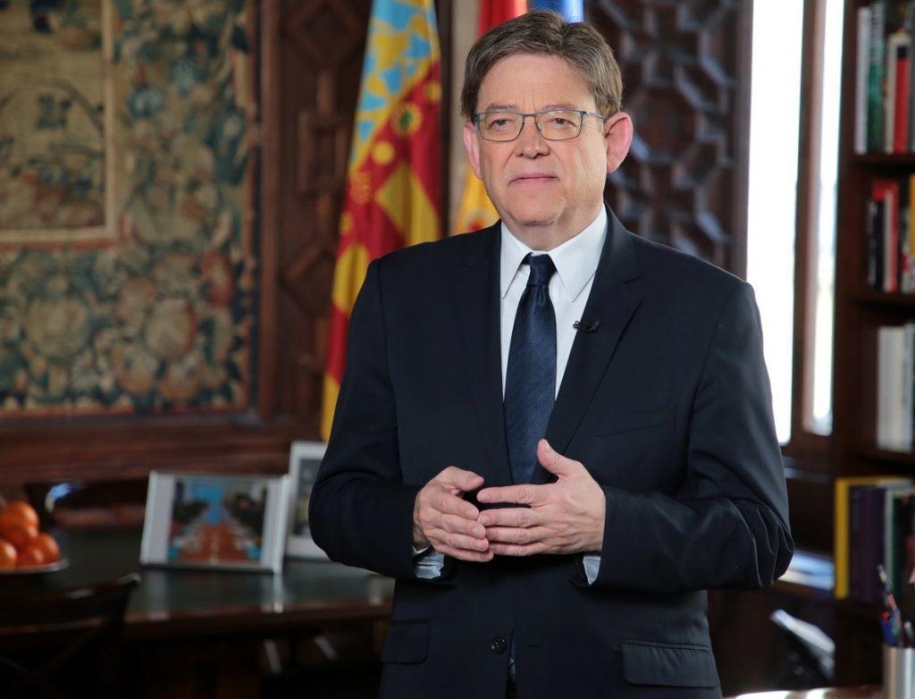 Puig destaca la «estabilidad, honradez y diálogo» de Valencia y avisa de que la democracia «no es irreversible»