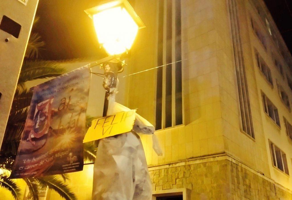 Valores en Baleares critica las «amenazas de muerte» vertidas contra el Rey y Jorge Campos por parte de Arran
