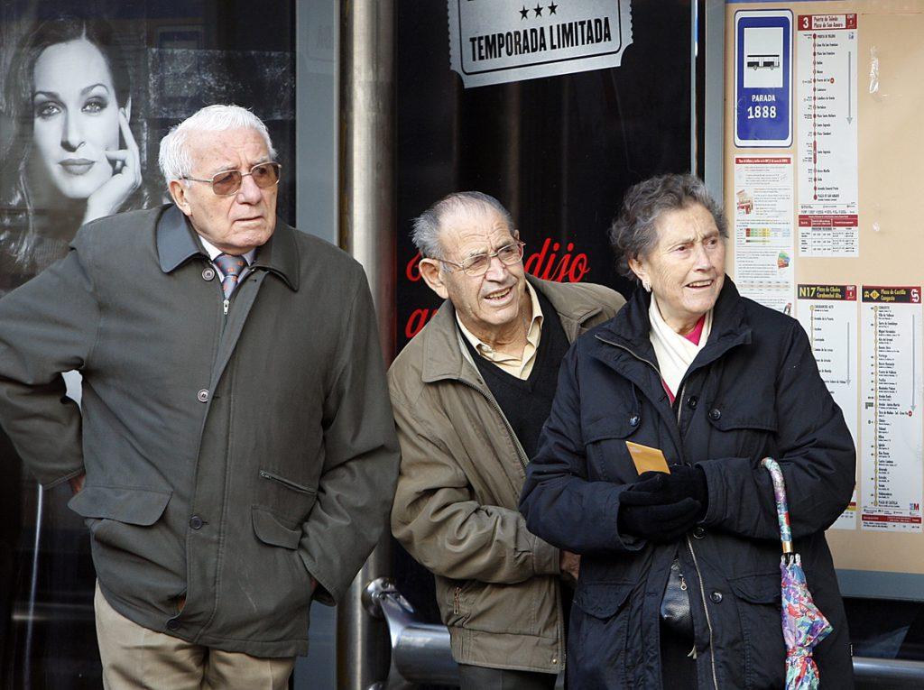 Las pensiones subirán un 1,6% y las mínimas un 3% desde este martes