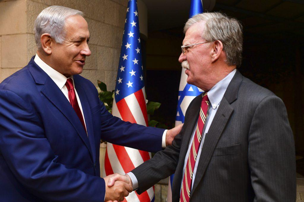 Netanyahu pide a Bolton que EEUU reconozca la soberanía de Israel sobre los Altos del Golán