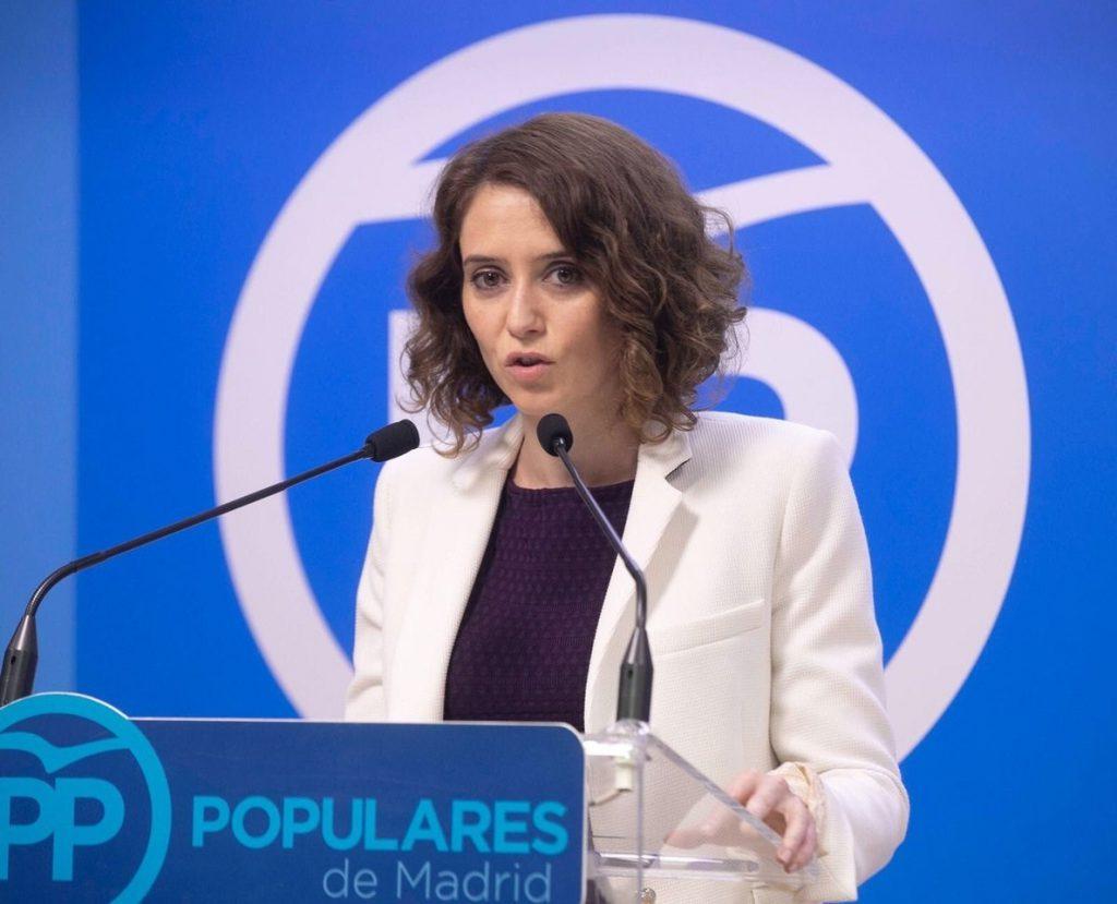 Isabel Díaz Ayuso, la candidata del PP «sin miedo» a defender sus ideas con la que el centrismo de Cifuentes se evapora