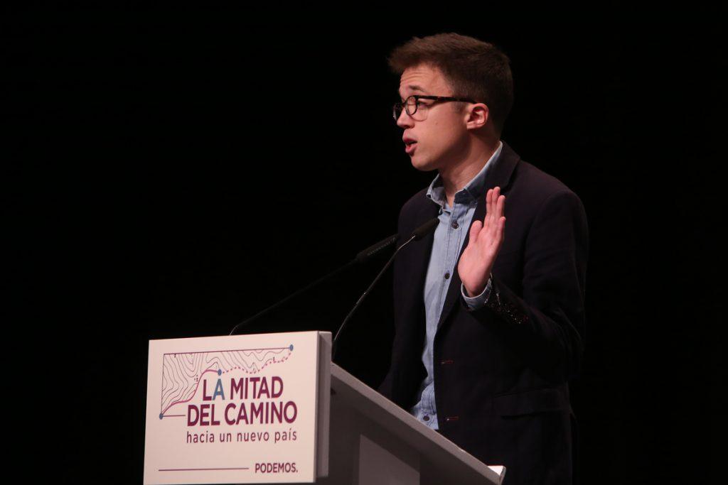 Errejón pide a Podemos «recapacitar» y confía en que Iglesias no presente un candidato alternativo a la Comunidad