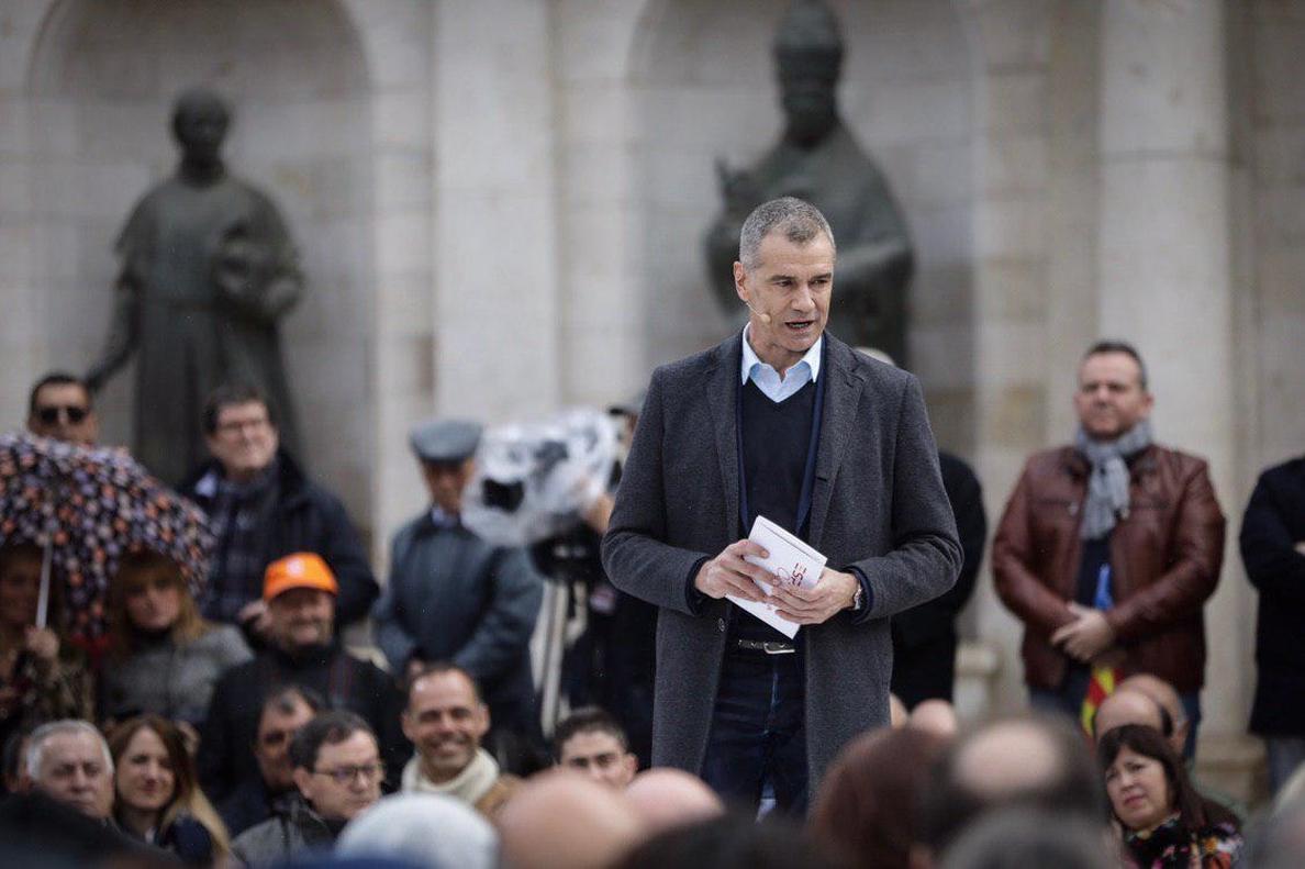 El Tribunal Constitucional mantiene a Toni Cantó fuera de la lista electoral de Ayuso