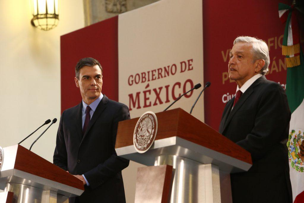 El presidente de México asegura que las empresas españolas «tienen las puertas abiertas»