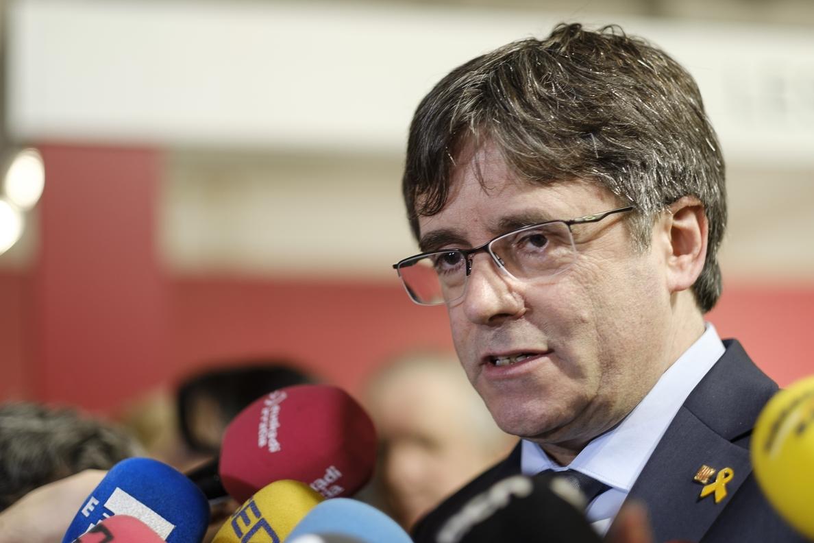 La justicia europea retira la inmunidad a Carles Puigdemont