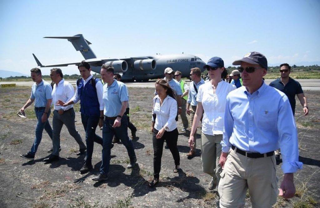 Llega a Colombia el segundo de los tres aviones de EEUU con ayuda humanitaria para Venezuela