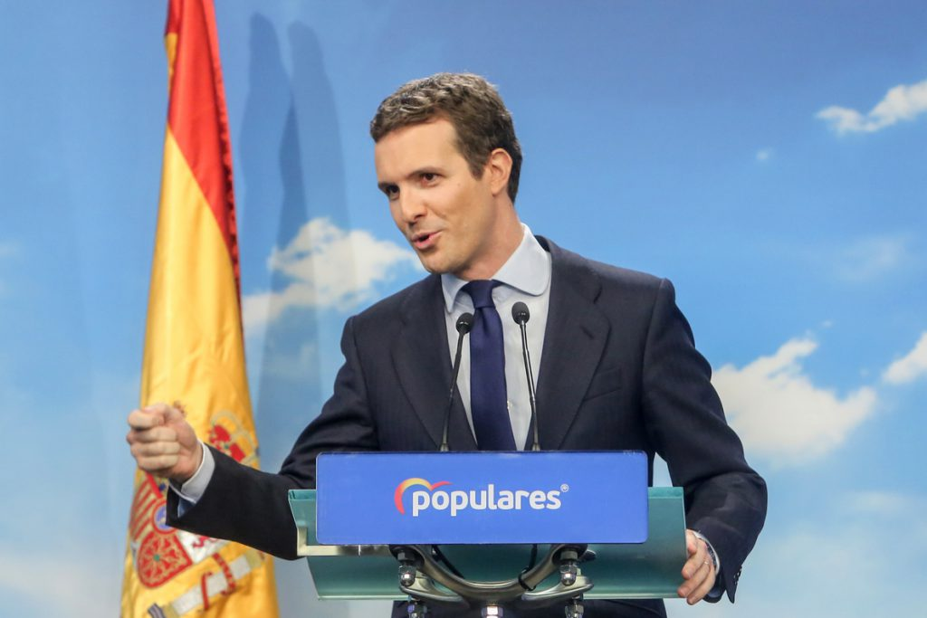 Casado recrimina a Sánchez su «complicidad» con los independentistas tras el rechazo a castigar los referendos ilegales